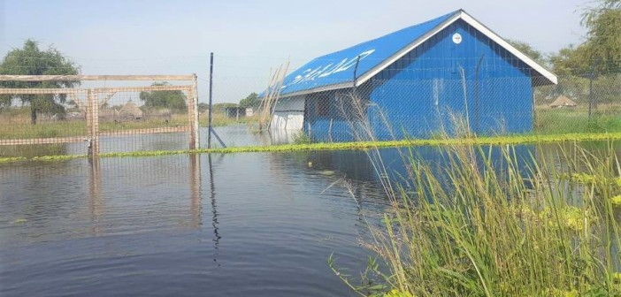 SAADO`s Women & Girls Friendly Space in Jiech Submerged in Floods