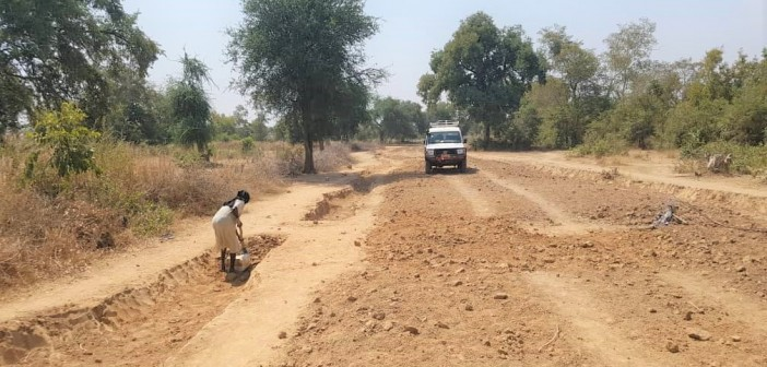 #SAADO Community Access Road in Majok Kuom-Awiel Completed